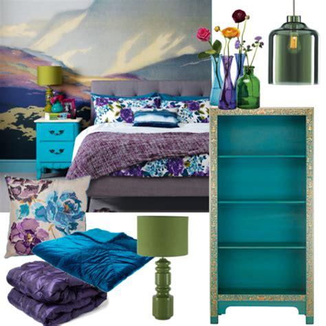 blue purple bedroom rich blue and purple bedroom moodboards housetohome co 10887
