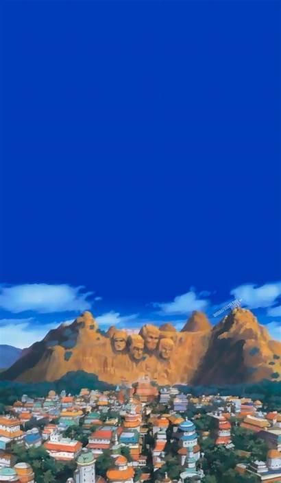 Naruto Scenery Anime Aesthetic Konoha Wallpapers Iphone