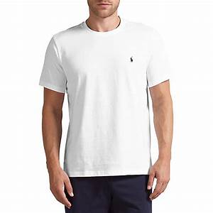 Buy Polo Ralph Lauren Crew Neck Lounge T-Shirt, White ...
