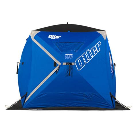 otter fish house otter xth pro cabin thermal shelter l m fleet supply