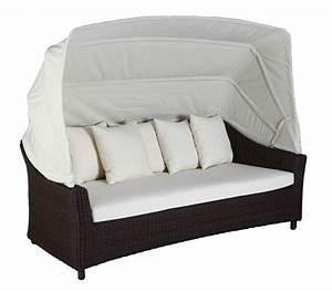 Garten Lounge Sofa : gartenlounge bonassola cubu croko garten liege polyrattan lounge sofa domus neu ebay ~ Markanthonyermac.com Haus und Dekorationen