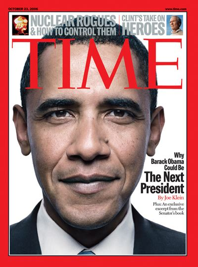 Time Magazine Cover Why Barack Obama Could Be The Next