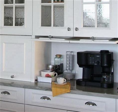 kitchen appliance storage ideas 40 appliance storage ideas for smaller kitchens removeandreplace com