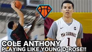 Cole Anthony Shows Flashes Of a YOUNG D-ROSE in Atlanta ...