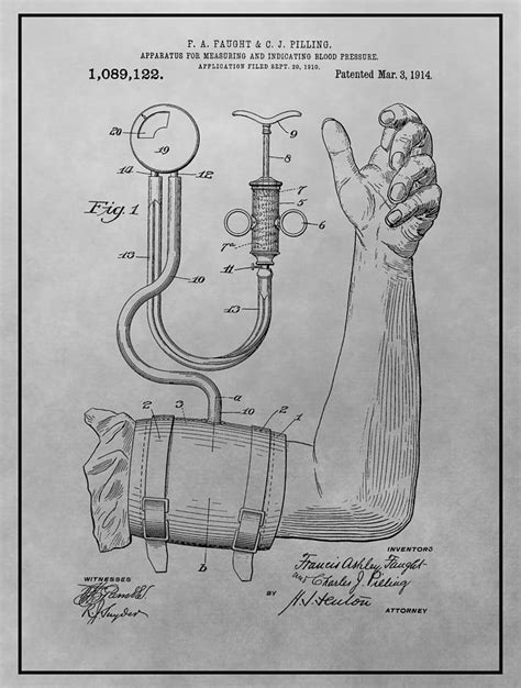 sphygmomanometer patent drawing drawing   sproul