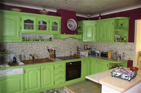 deco cuisine vert cuisine moderne vert pistache
