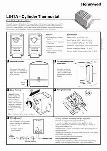 Hot Water Cylinder Thermostat Wiring Diagram
