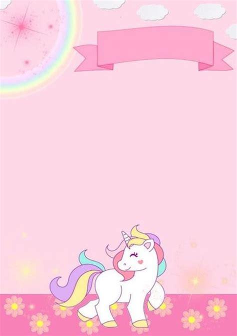 convites de unicornio  preencher  imprimir