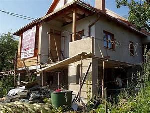 Přístavba chaty