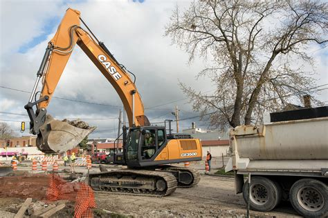 case cxd excavator case construction equipment