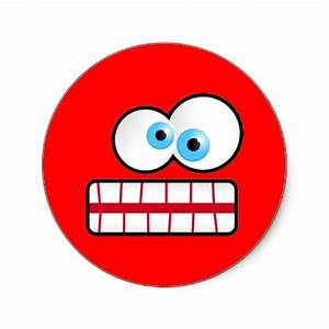 Stressed Smiley Face - Cliparts.co
