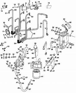 Evinrude Fuel System Parts For 2002 250hp E250fpxsnf Outboard Motor