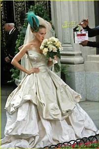 full sized photo of sarah jessica parker wedding dress 22 With sarah jessica parker wedding dress