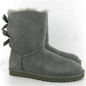 ugg bailey bow grey sale ugg bailey bow boots in grey