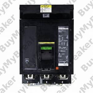 Square D Mga36350 3 Pole 350 Amp 600v Circuit Breaker