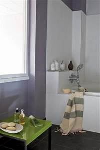 Couleur Pour Salle De Bain : couleur pour salle de bain peinture ~ Preciouscoupons.com Idées de Décoration