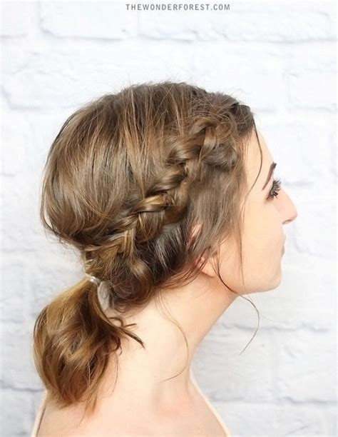 Dressy Updo Hairstyles by 20 Easy Updos For Medium Hair