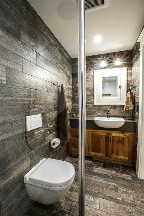 white rustic bathroom photo page hgtv