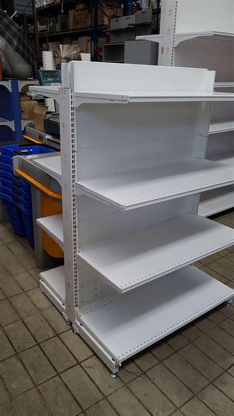 vendita scaffali scaffalatura usata per negozio tipo gondola scaffali