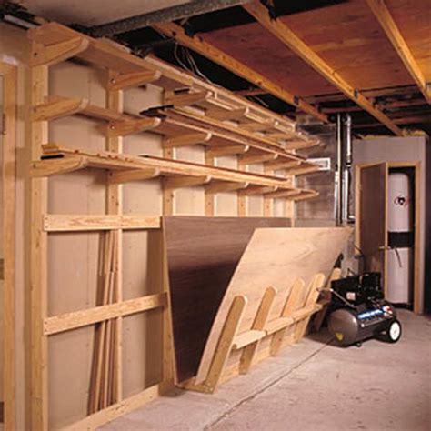 lumber storage racks plans woodworking projects plans