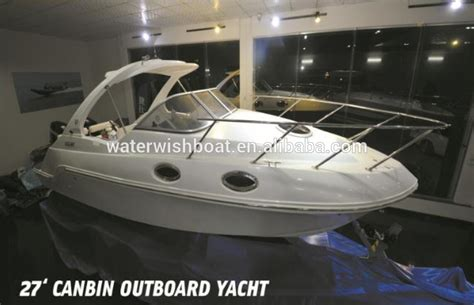 Cuddy Cabin Fishing Boat Manufacturers by Waterwish Qd 25 Cabin Fiberglass Cuddy Cabin Boat Cruiser