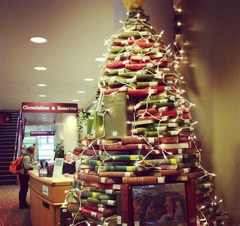 alternative christmas tree designs   book favbulous