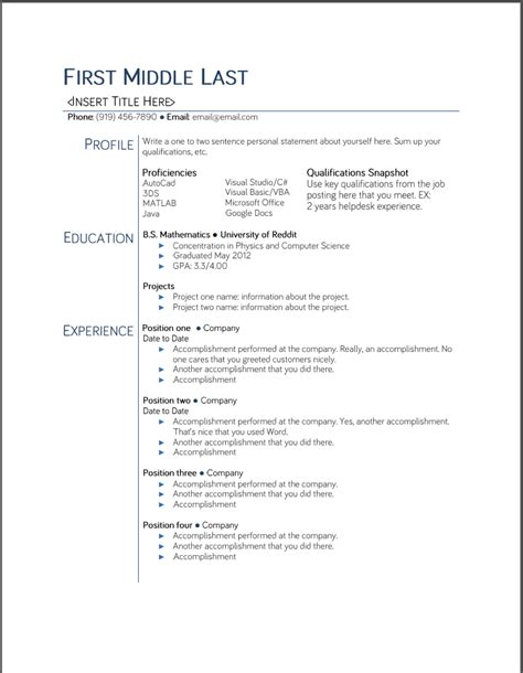 Resume Templae by College Student Resume Templates Microsoft Word
