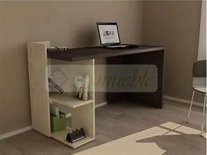 Escritorio, Moderno, Mesa, Pc, Notebook, -, Oficina