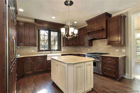 walnut color kitchen cabinets traditional wood walnut kitchen cabinets tt160 6990