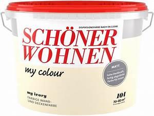 Schöner Wohnen Farbe Kaufen : sch ner wohnen farbe innenfarbe my color 10 0l my ivory online kaufen otto ~ Orissabook.com Haus und Dekorationen