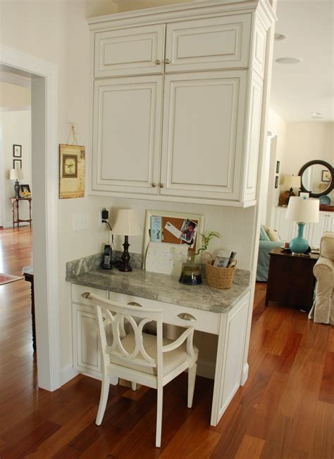 small kitchen desk ideas two carolina nesters organizing the kitchen office area