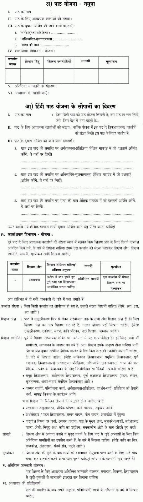 10th hindi formative summative assesment 10th hindi unit