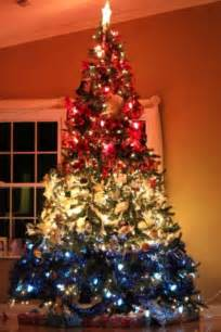 patriotic christmas tree red white blue pinterest