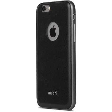 moshi iphone moshi iglaze napa for iphone 6 6s black 99mo079002 b h