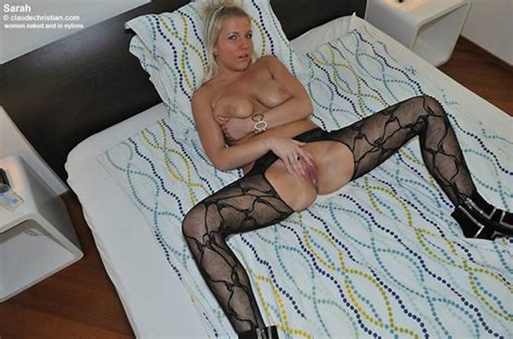#Sarah #In #Crotchless #Pantyhose #Spreads
