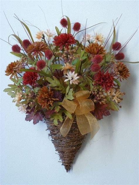 wall flower arrangements 36 best images about door swags on deco mesh 3309