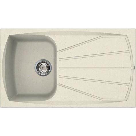 lavelli elleci granitek elleci living 400 lavello 1 vasca con gocciolatoio colore