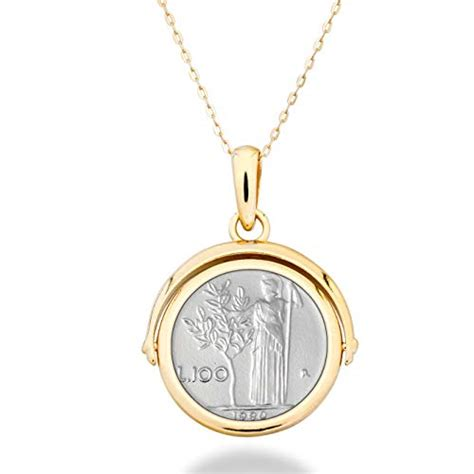 Compare Price Necklace Italian Gold Woman On