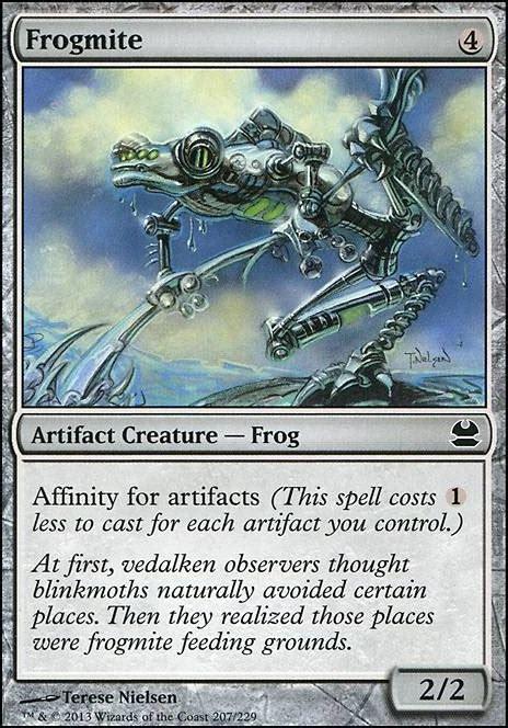 frogmite mtg card