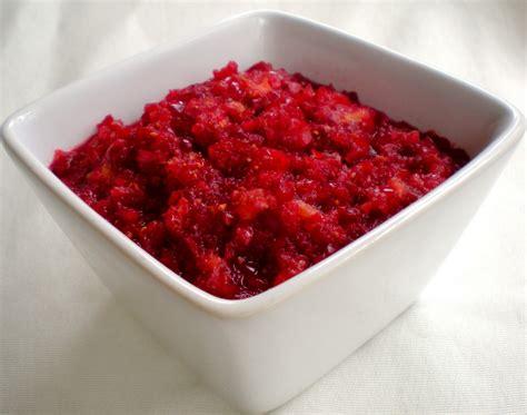 cranberry recipe cranberry relish recipe dishmaps