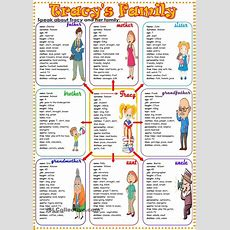 26 Best Images About Family Vocabulary On Pinterest
