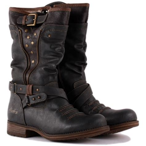 womens biker boots fashion motorcycle boots women