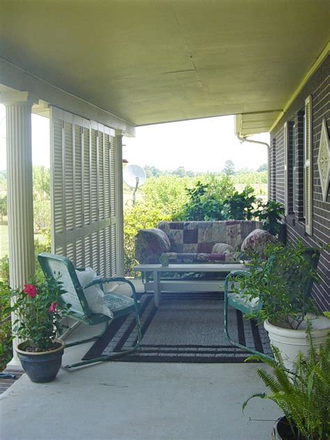 moulding front porch cozy 2 my front porch found louver doors at yard sale and we