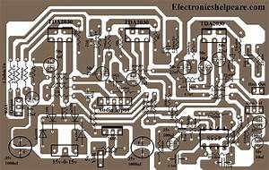 2 1 Home Theater Circuit Diagram In 2020
