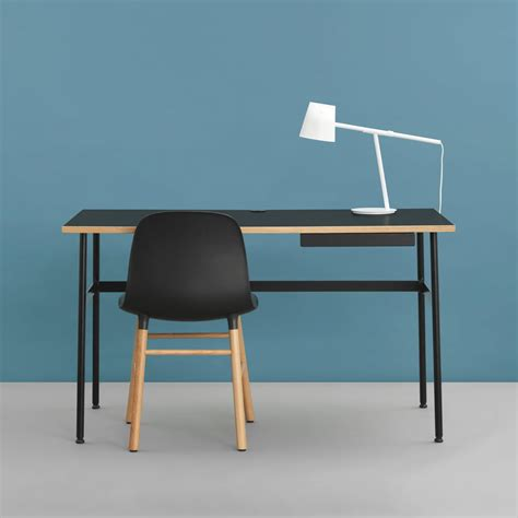 bureau pcr form chair wood legs de normann copenhagen