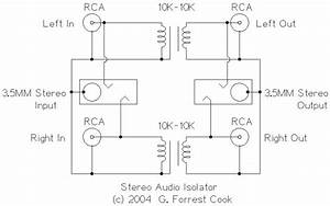 Stereo Audio Isolator  U00b7 Circuitsarchive
