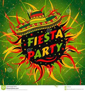 Mexican Fiesta Party Flyer