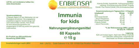 Es gibt unbestimmte artikel (ein, eine) und bestimmte artikel (der, die, das). Enbiensa Immunia for Kids Kapseln - Ich Steh Auf