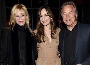 Dakota Johnson Brought Parents Melanie Griffith & Don ...