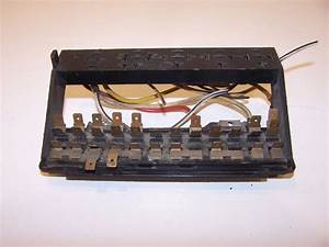 Fuse Box Vw Beetle 5 71 To 1979